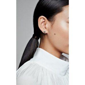 Pandora Regal Heart Stud Earrings